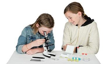 Учебный микроскоп в кейсе